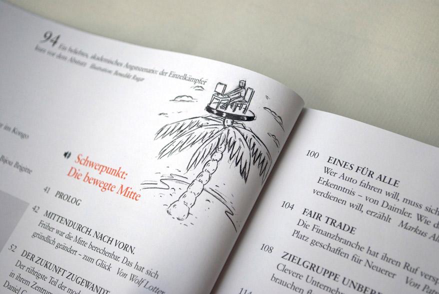 Benedikt Rugar brand eins